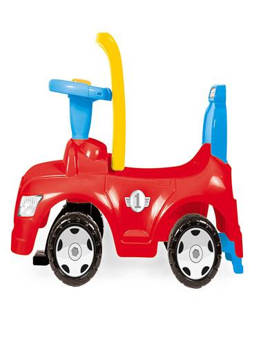 Dolu Dolu Toy Factory Step Araba 2'si 1 Arada 8031 Renkli